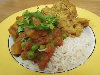 Baigan Bharta; Tandoori Cauliflower Cheese