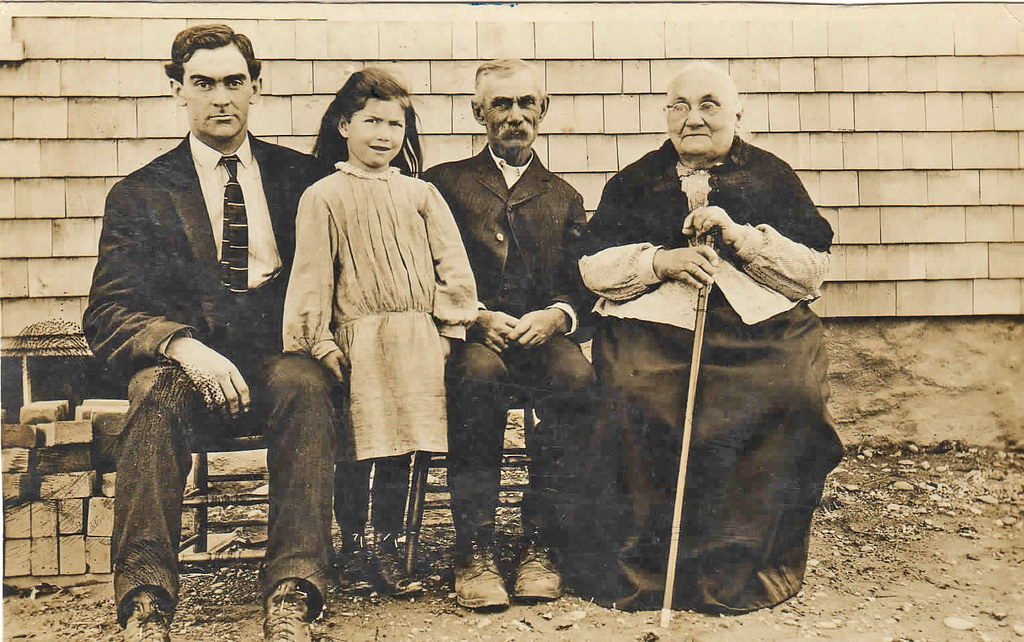 My Great Grandad and great, great grandmother and dad. Fal… | Flickr