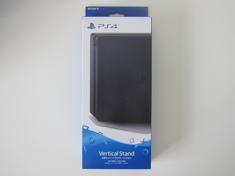 Sony PS4 Vertical Stand - Box Front