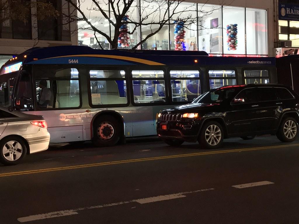 2017 Nova Bus LFSA 5444 - M60 SBS To Broadway 106 St