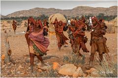 Vignette of a Himba Village