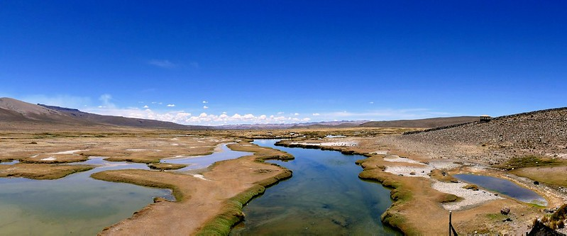 Perù, Arequipa - Salinas Salt Lagoon