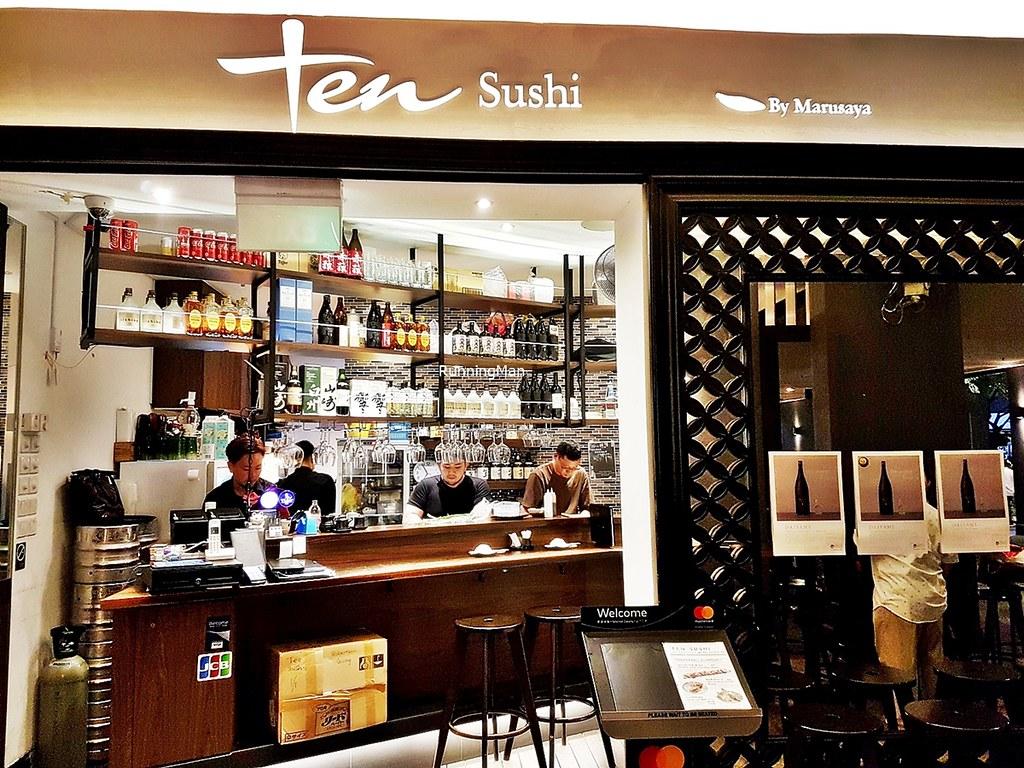 TEN Sushi Facade