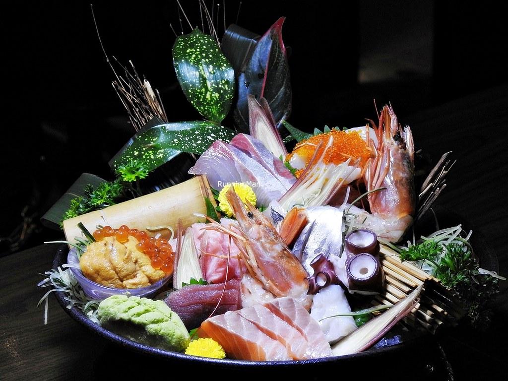 Assorted Sashimi Deluxe