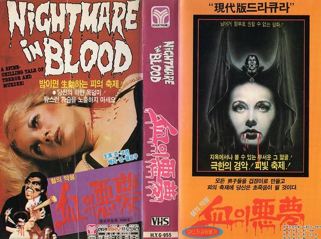 Seoul Korea vintage VHS cover art for