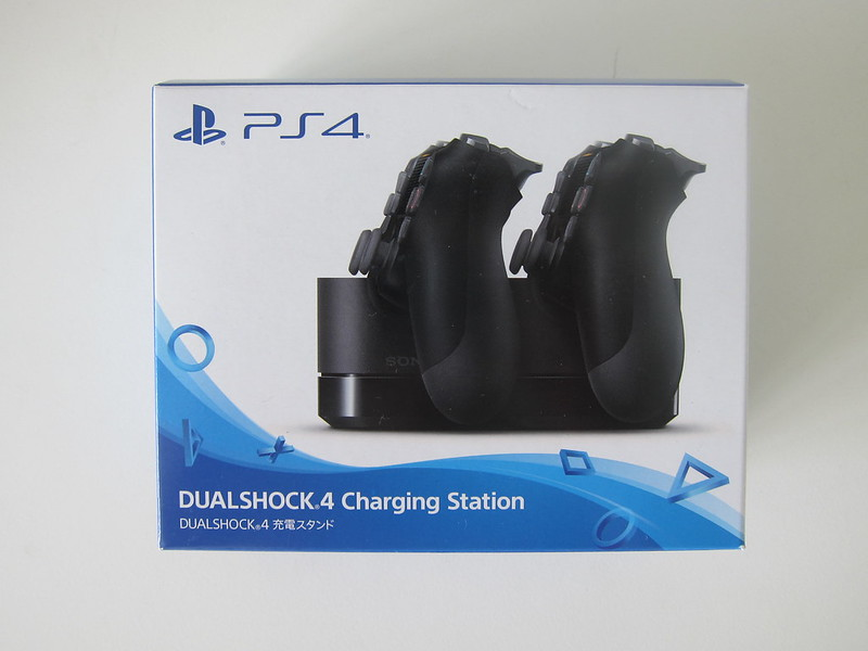 Sony DualShock 4 Charging Station - Box Front