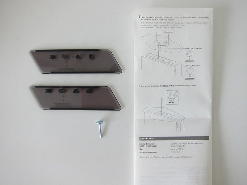 Sony PS4 Vertical Stand - Instructions #2