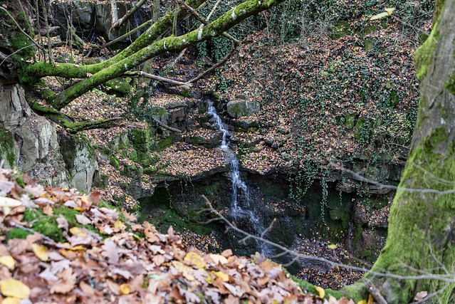 Kleiner Wasserfall / Little waterfall