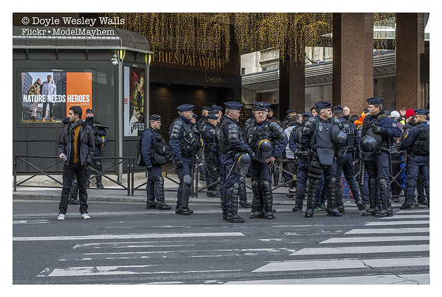 Yellow Vest Protest / Nature Needs Heroes, Paris