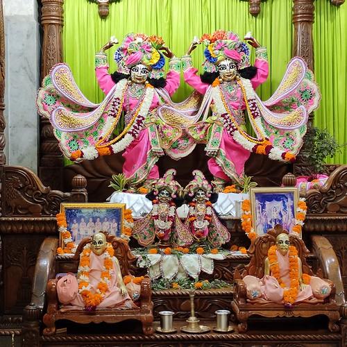 ISKCON Vrindavan Deity Darshan 25 Nov 2019