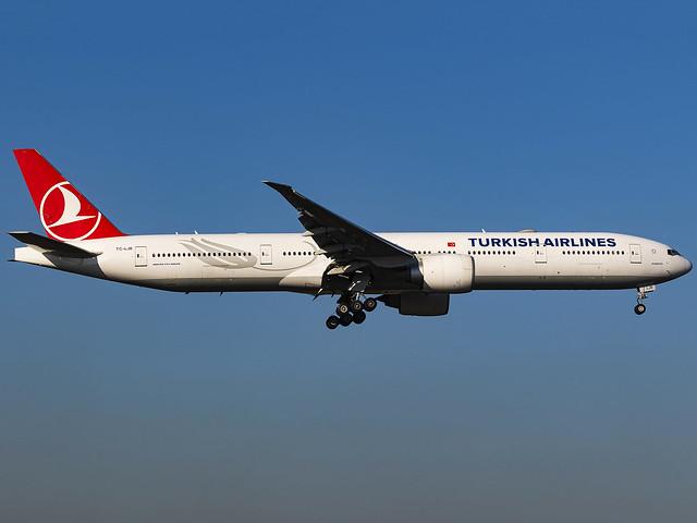Turkish Airlines | Boeing 777-3F2(ER) | TC-LJB
