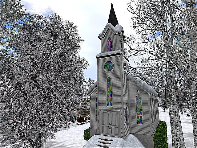 Jacksonville Winter Wonderland -Chapel In the Woods
