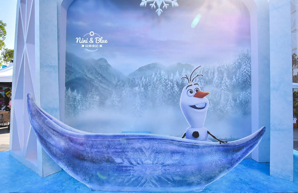 新光三越 台中大遠百 耶誕節 角落小夥伴 冰雪奇緣15