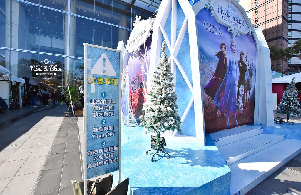 新光三越 台中大遠百 耶誕節 角落小夥伴 冰雪奇緣12