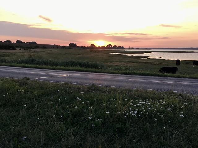 Sunset Als-Kegnæs (Denmark)