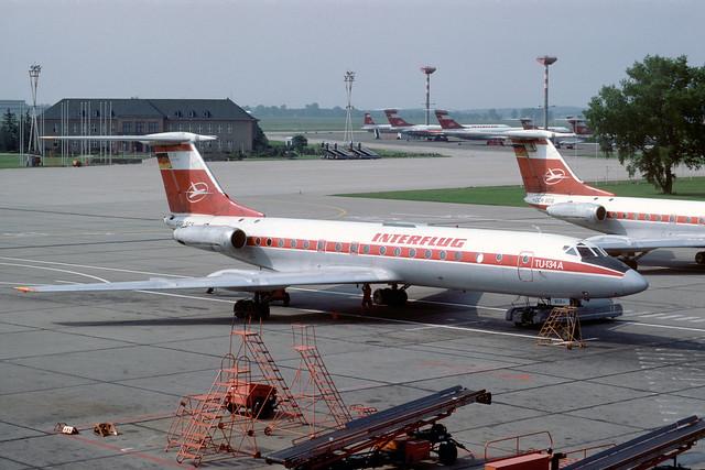 DDR-SCS Tupolev TU134A SXF 28-05-84