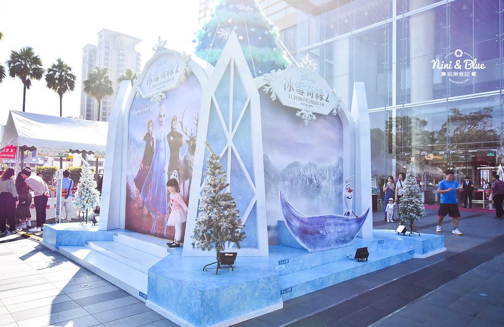 新光三越 台中大遠百 耶誕節 角落小夥伴 冰雪奇緣16