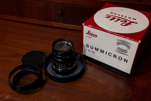 Summicron 50mm 2nd mint condition