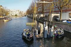 Zwanenburgwal - Amsterdam (Netherlands)