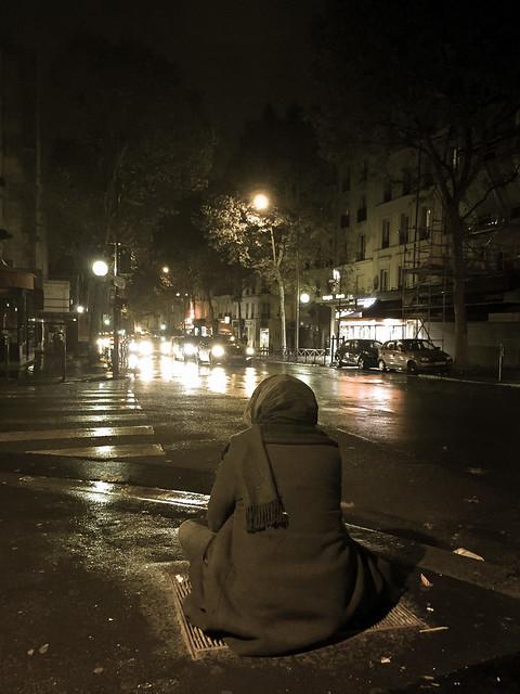 Homeless in November