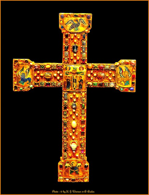 Cross with large Enamels