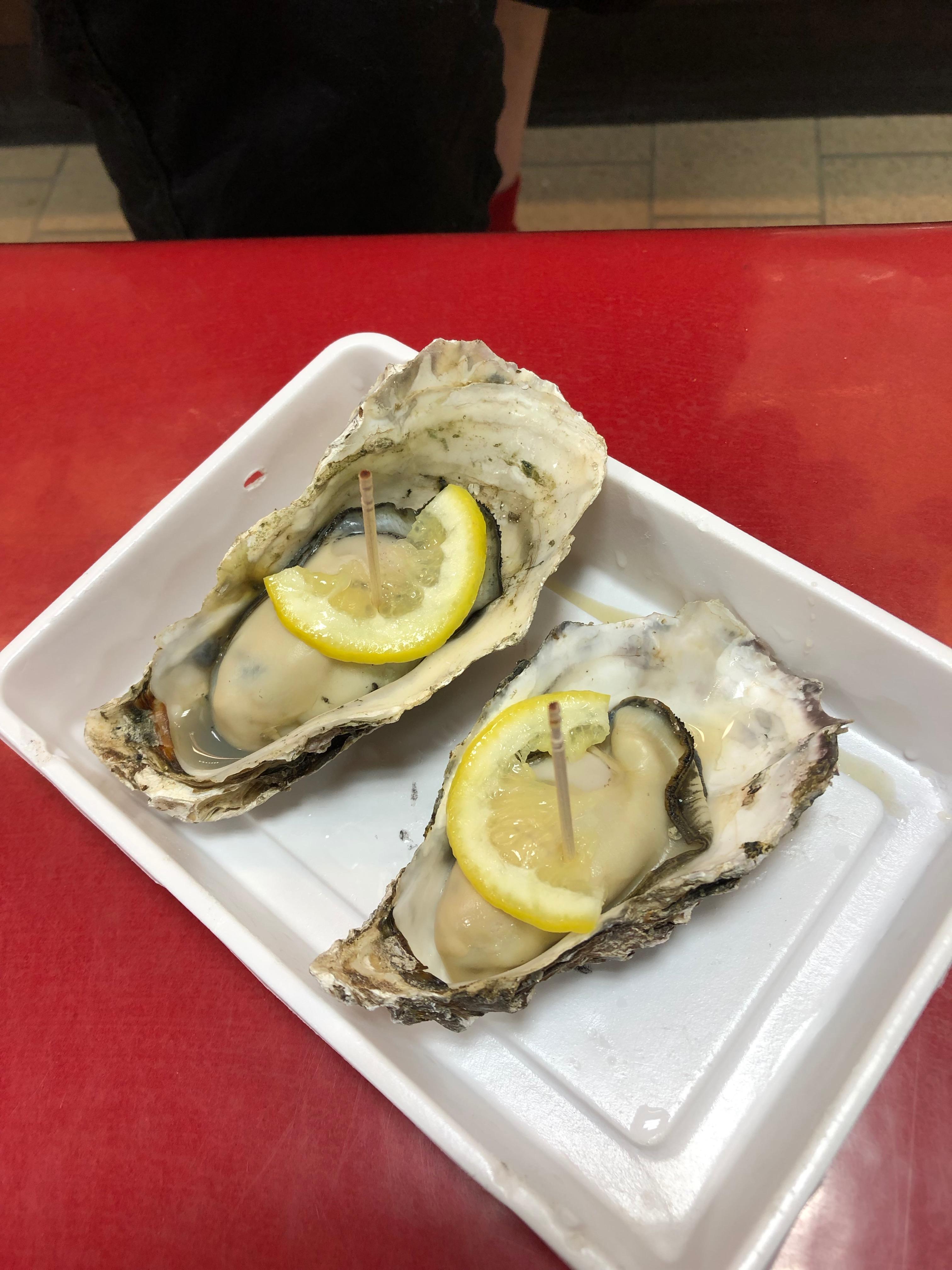 Hiroshima food oysters