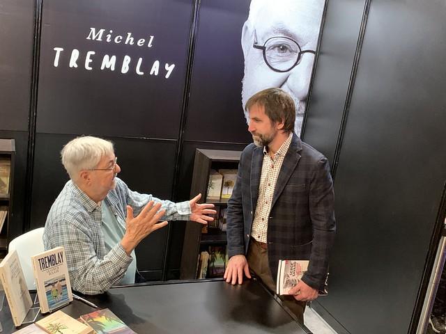 Steven Guilbeaut au salon du livre de Montréal