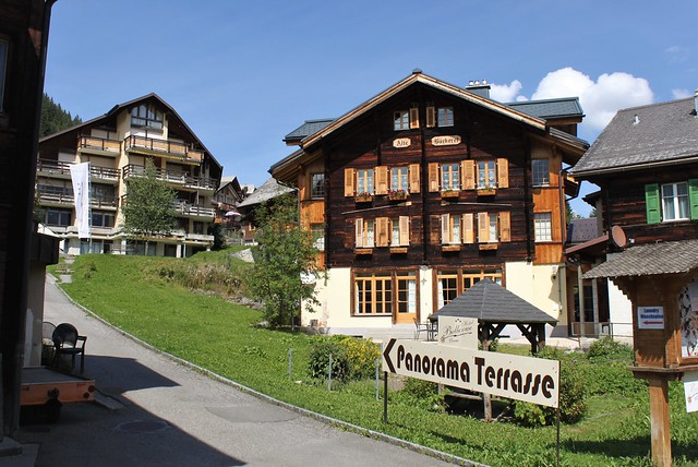 Mürren in Switzerland