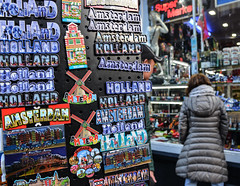 Souvenir shop in Amsterdam, Holland