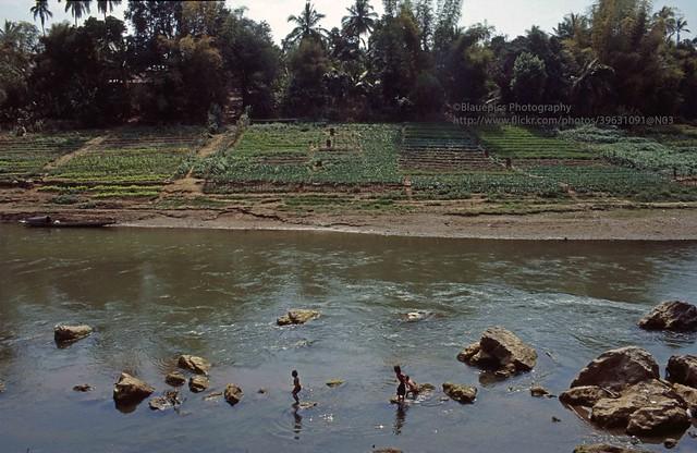 Luang Phrabang, Mekhong river