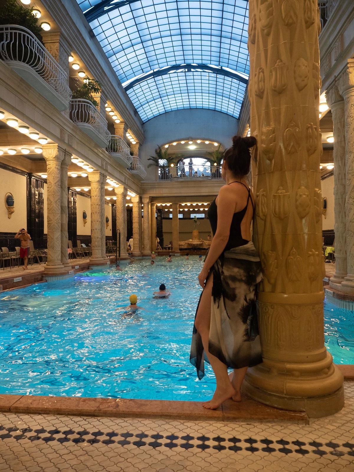 Gellert thermal spa Budapest
