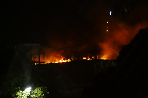 Fire at Sky City Convention Centre