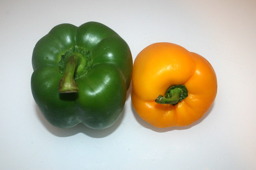 10 - Zutat Paprika / Ingredient bell peppers