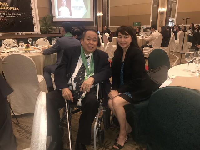 Annie Tan-Yee with Prof. Noli Santos