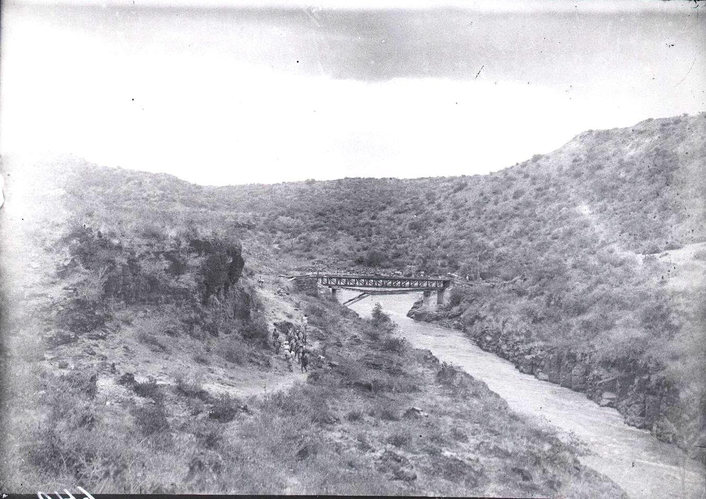 649. Мост через реку Аваш