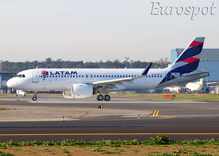 F-WWDO Airbus A320 Neo LATAM