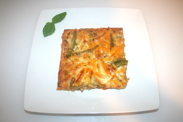 53 - Chicken Fajita Pizza - Serviert / Served