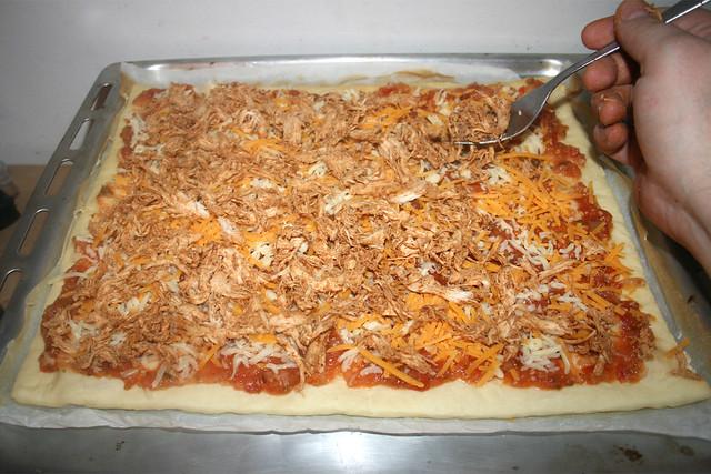 48 - Fajita-Hähnchen auftragen / Add fajita chicken