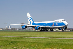 AMS - Boeing 747-8HVF (VQ-BLR) Air Bridge Cargo