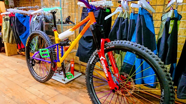 Comrie Croft Bikes - Marino in awesome colour scheme.