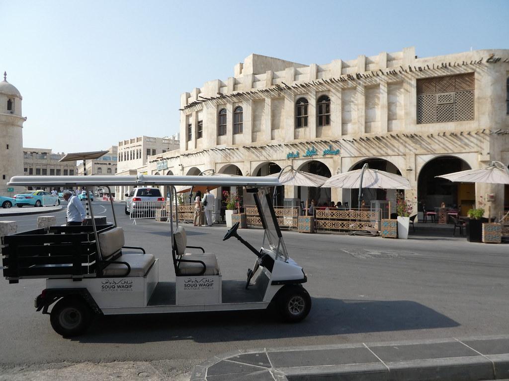Souq Waqif Boutique Hotel Electric Club Car