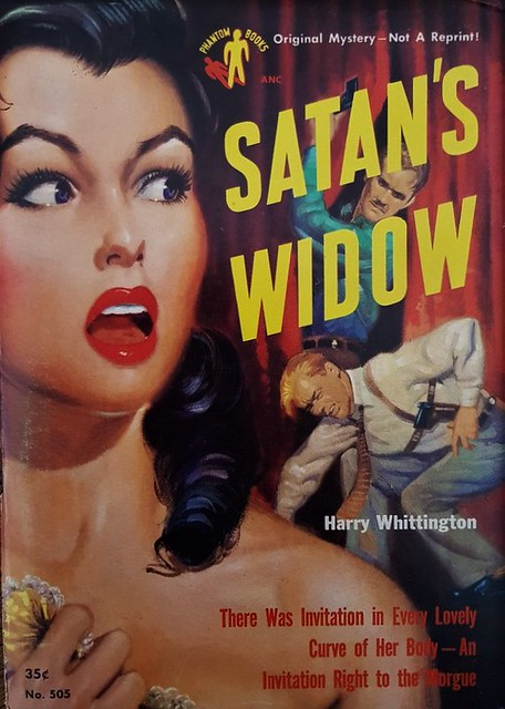 Satan's Widow - Phantom Book USA - Harry Whittington - No 505 - 1951