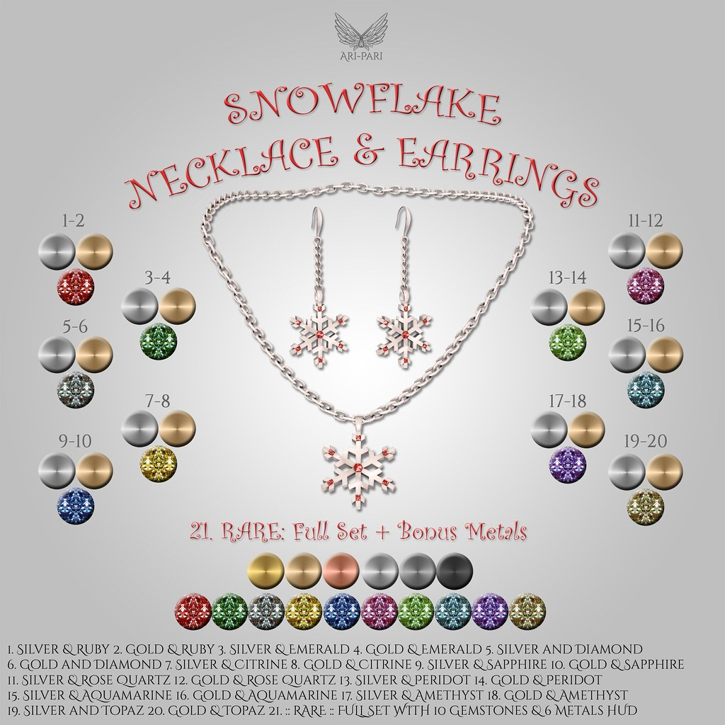 [Ari-Pari] Snowflake Jewelry Gacha