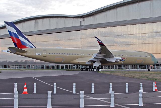 Aeroflot Airbus A350-941 F-WZGT (VQ-BFY) TLS 21-10-19