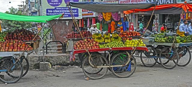 Fruit Vendor Udaipur Rajasthan DSC_7527