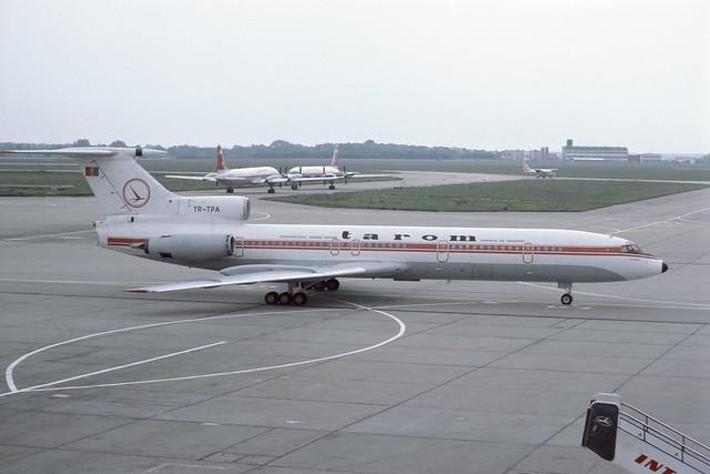 YR-TPA Tupolev TU154B SXF 28-05-84