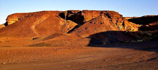 NAMIBIA, Uraltes Gestein bei Twyfelfontein  , N1/12136