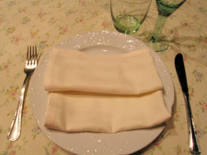 Pazo di Andeade: la tavola