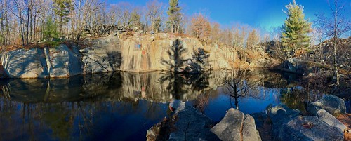 cellphonepic panoramic newhampshire water reflection 03301 nh concord quarry mountainbiking