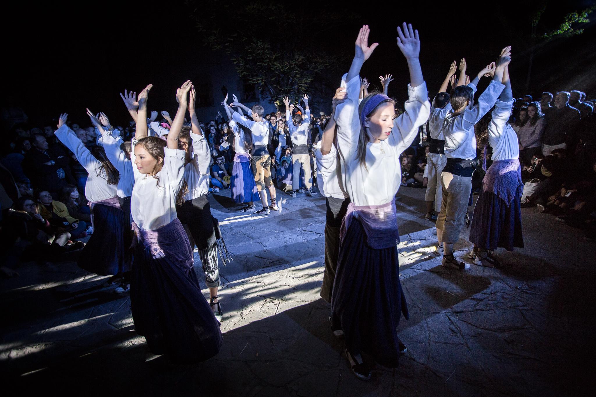 Sardana dels aprenents de bruixot (fotos oficials) - XX Fira de les Bruixes